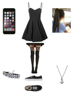 """Untitled #294"" by lukehemmogirl1996 ❤ liked on Polyvore featuring Glamorous, Vans and Tema"