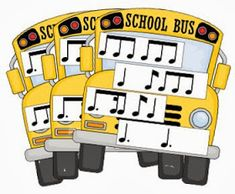 Floating Down the River: School Bus Rhythms: Games and Assessment