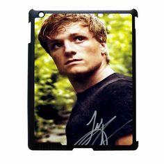 josh hutcherson signature 2 iPad 4 Case