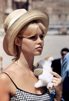 BEACH BONNET- Brigitte Bardot | Mark D. Sikes: Chic People, Glamorous Places, Stylish Things