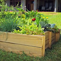 #DIY Step-by-step instructions to creating a raised bed-perfect for growing #vegetables