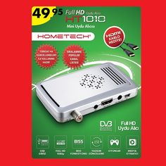 #A101 | 26 Kasım Perşembe Full HD Uydu Alıcısı HT1010 sadece 49,95TL!