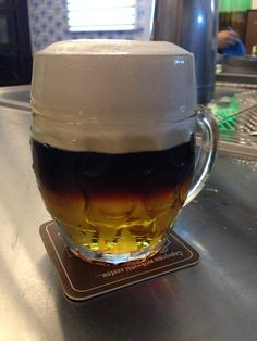 """See 2061 photos from 16245 visitors about Czech food, beer, and lively. """"Great beer, very cool atmosphere, and insanely cheap food! All-you-can-eat. Czech Recipes, Cheap Meals, Beverages, Beer, Canning, Mugs, Tableware, Food, Root Beer"""