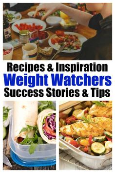 Weekly Roundup of WW friendly recipes inspirational articles success stories and healthy living eating and weight loss tips Healthy Low Calorie Meals, No Calorie Foods, Healthy Eating Recipes, Low Calorie Recipes, Vegetarian Recipes, Cooking Recipes, Healthy Food, Roasting Frozen Vegetables, Banana Bread With Applesauce