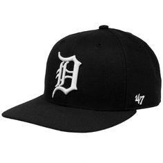 Detroit Tigers - Sure Shot Captain Snapback Cap   OldGlory.com