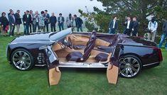 2015 Cadillac Ciel concept with suicide doors.