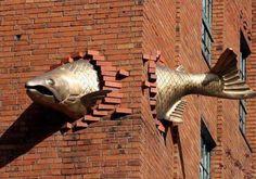 Fish façade
