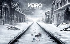 Wallpaper Game, 4A Games, Deep Silver, Metro: Exodus