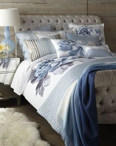 lovely #blue bedding http://rstyle.me/n/g43q9r9te