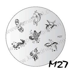 Konad Nail Image PLATE M27