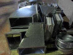 Extivent fabricante de conductos de ventilación y piezas a medida y estándar.