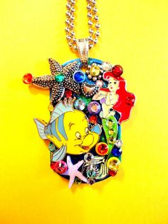 Character Dog Tag Pendant Number 1141 by BradosBling on Etsy, $39.99