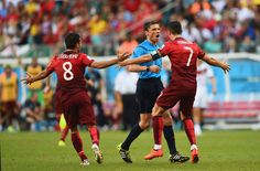 Cristiano Ronaldo casi se 'come' al árbitro y lesión de Coentrao
