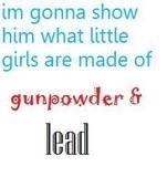 What little girls are made of, Miranda Lambert