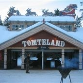 We went to see Santa Claus in Tomteland near Mora.