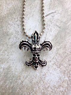 New Orleans skull