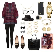 """""""Untitled #25"""" by ssakhan on Polyvore featuring H&M, Melissa Odabash, David Yurman, Tory Burch, Carvela Kurt Geiger, Ray-Ban, Charlotte Russe, Accessorize, House of Harlow 1960 and Forever 21"""
