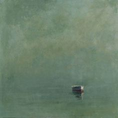 journalofanobody: Anne Packard | Green Dory Oil on canvas, 40 x 40 inches