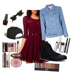 """""""Portraits of a Lady"""" by laura-rathbone on Polyvore featuring Glamorous, Converse, Brixton, Charlotte Tilbury, OPI and Bobbi Brown Cosmetics"""