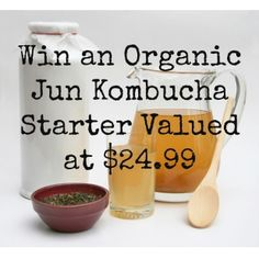 Win A Jun Scoby valued at $25 - Jun Kombucha is a fermented tonic made of green tea and honey. Post a pic of you doing something good for your gut, #winajunscoby and tag a friend. - http://iconosquare.com/contests/nourishmeorganics1