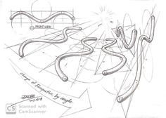 "Instagram의 ZNLEE LAB님: ""#투시흥신소 *원통형 w형의 투시 이 형태를 어려워 하는 분의 의뢰로 다양한 뷰 드로잉! 도움 되시길 바랍니다. #그려줄랩 #perspective #시계도법 #znlee #스케치 #렌더링 #제품디자인 #sketch #투시몬스터 #투시공장"" Art Sketches, Art Drawings, Perspective Sketch, Art Worksheets, Figure Drawing Reference, Elements Of Art, Drawing Tips, Art Techniques, E Design"