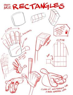 """""""Hands are Rectangles"""" 