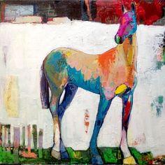 Sad Paintings, Animal Paintings, Horse Artwork, Watercolor Horse, Cow Art, Equine Art, Wildlife Art, Art Techniques, Art Drawings