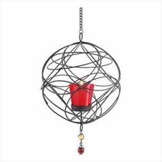 Wire Web-Work Candle Holder Case Pack 1