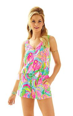 0cdf5eb4282 Tybee Sleeveless Romper Daily Dress