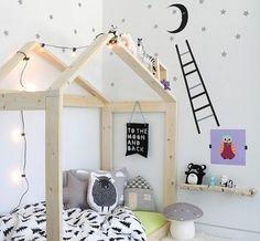 Full size of toddler house frame pin kids bedroom room design ideas gorgeous cozy nook bed Girl Room, Girls Bedroom, Cosy Bedroom, Scandinavian Kids Rooms, Scandinavian Style, Ideas Habitaciones, Kids Room Design, House Beds, Kid Spaces