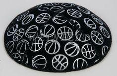 SportBallsS | Silver Assorted Sport Balls | Yarmulke | Kippah | Benchers | Kippot | Tallit | Kippa $2.75 each