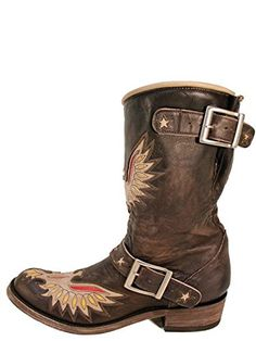 Old Gringo Biker Eagle Full Womens Boots - L816-1 - 8.5 - M *** You can find more details by visiting the image link.