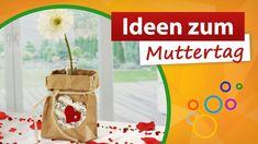 Ideen zum Muttertag ♥ Blumendekoration basteln ♥ trendmarkt24
