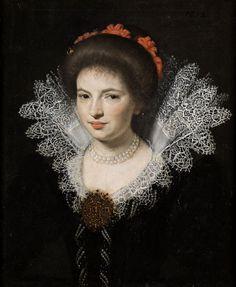 VAN MIEREVELT, MICHIEL JANSZ. (attributed)  - Bildnis einer jungen adeligen Dame.