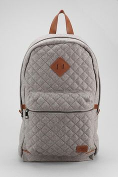 Spurling Lakes Quilted Wool Backpack #urbanoutfitters