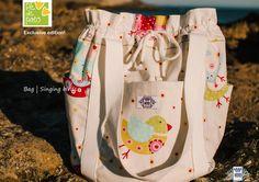 Bag Singing birds | Special edition: only 8 made. Apenas disponível na loja Pé de Pato Campo de Ourique e na loja Lx Look.