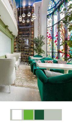 Restaurant Interior Design, Luxury Interior Design, Interior Architecture, Futuristic Interior, Furniture Design, Catalog, Decorations, Color, Cleaning
