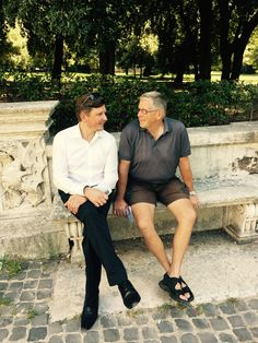 JFP a/s på ROM turen - grundlæggeren og CEO på galleri Borghese