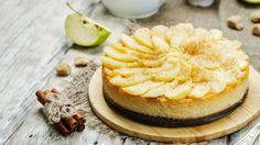 Karamelový cheesecake s jablkami   Recepty.sk