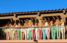 University of Arizona gamma phi beta cutest sorority photoshoot photo shoot ideas pastel pants crescent hug