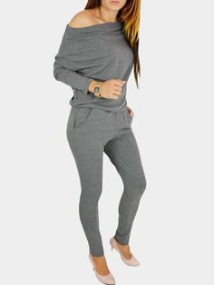 Cobama Women Fitted Stylish Regular Premium Stripes Big Pockets Jumpsuit