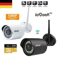 100-240 V WiFi-Webcam Wireless 1080P Überwachungskamera Nachtsicht Cloud Storage