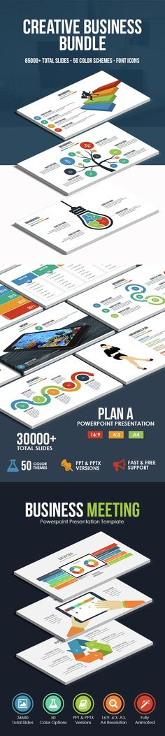 Business Annual Report Template #powerpoint #powerpointtemplate - business annual report template