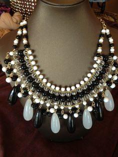 Hello beautiful! This statement necklace is sure to catch everyone's eye! #thespoiledgirl #boutique #jewelry #accessories #womens #fashion #statement #necklace
