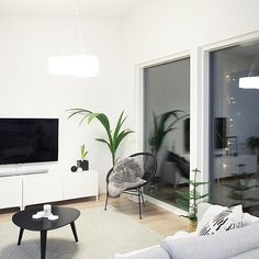 On pimiää  #livingroom #livingroomdecor #myhome #interior #modernhome #nordicinspiration #mynordicroom #scandinavianhome #whiteinterior #nordicminimalism #instakodit #etuovisisustus #skandinaavinenkoti #sisustus #modernikoti #inspiremeinterior #nordiskehjem #skandinaviskehjem #olohuone #triplevalaisin #tapioanttiladesign #kaamos