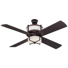 Midoro Ceiling Fan (Oiled Bronze/White) - OPEN BOX RETURN by Craftmade at Lumens.com