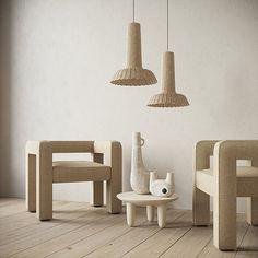 Ukrainian design Faina makes minimal furniture from clay and flax… Furniture Making, Furniture Sets, Furniture Design, Upcycled Furniture, Furniture Stores, Cheap Furniture, Contemporary Ceramics, Contemporary Design, Modern Design