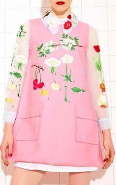 Garden Charlie Dress by Vivetta for Preorder on Moda Operandi