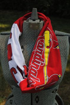 St. Louis Cardinals Upcycled TShirt Infinity by SeasonedWithStyle, $12.50