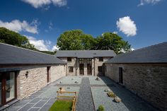 for Duddon Farm - UK - natural slate roofs look so perfect!  | #architecture #CUPA14 #CUPAPIZARRAS